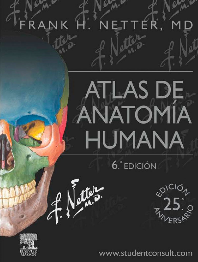 Netter,Atlas de Anatomia Humana 6ª edicion(Edicion 25º Aniversario)
