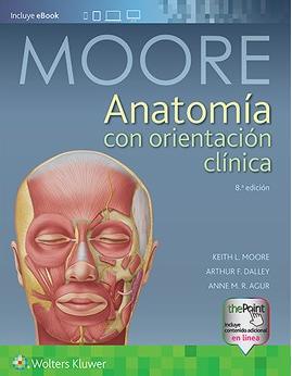 Moore, Anatomia con Orientacion Clinica. 8a Ed.