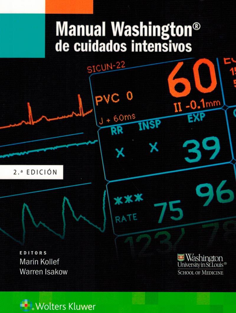 Kollef, Manual Washington de Cuidados Intensivos 2° Ed