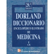 Dorland Diccionario Enciclopedico Ilustrado De Medicina (2 Volume Set)