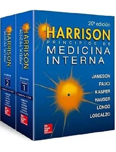 Harrison, Principios de Medicina Interna  20 Ed. 2 Vols