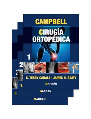 Campbell, Cirugia Ortopedica 3 Volumenes Premium 11ª ed Revisada