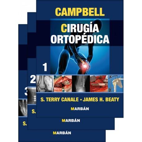Campbell, Cirugia Ortopedica 3 Volumenes Premium