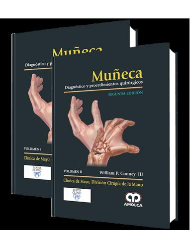 Cooney, Muñeca Diagnostico y procedimientos quirurgicos - 2 VOLUMENES 2º Ed