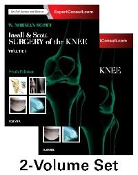 Insall  Scott Surgery of the Knee, 2-Volume Set, 6th Edition