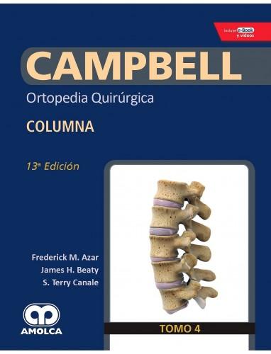 Campbell Ortopedia 13ª ed.: Tomo 4 Columna