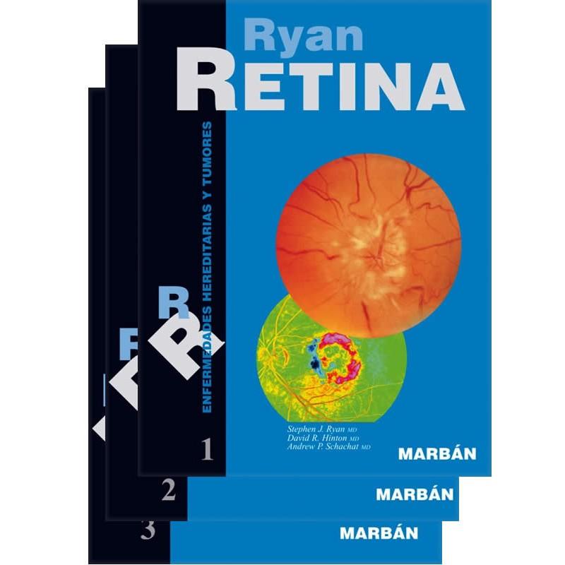 Ryan, Retina. Set 3 Vols. Tapa Blanda.