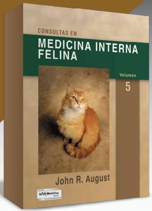 August, Consultas en medicina interna felina 5ª ed.