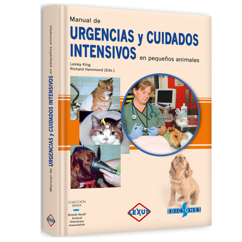 King, Manual de Urgencias y Cuidados Intensivos en Pequeños Animales